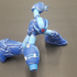 Megaman X Static Pose print image
