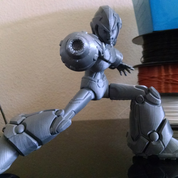 Megaman X Static Pose
