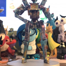 Picture of print of Pathfinder from Apex Legends