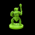 Armored Goblin 28mm Miniature image