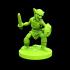 Goblin swordman 28mm Miiniature image