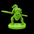 Goblin spearman 28mm Miiniature image