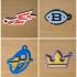 AAF Eastern Conference Team Logo Keychains image