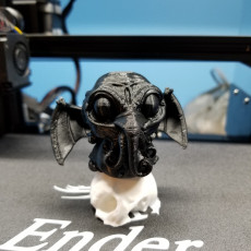 """Picture of print of Cthulhu """"The great chibi one"""""""