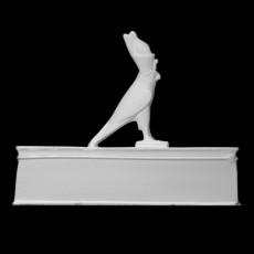 Animal Coffin with Horus figurine