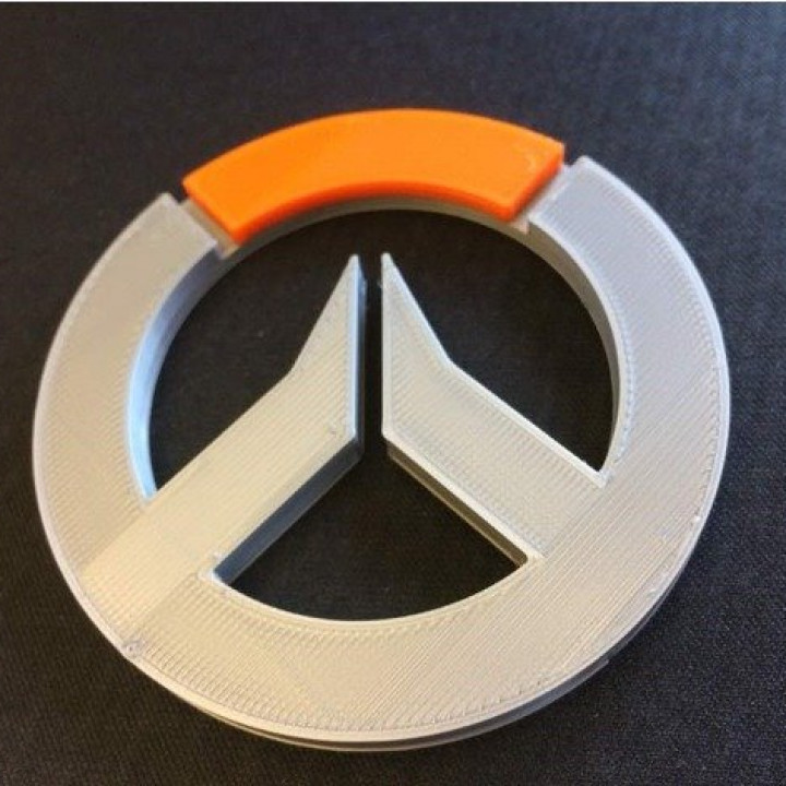 Overwatch Logo (Multi Coloured)
