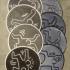 8 Keith Haring coaster image