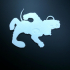 Redhound Keychain print image