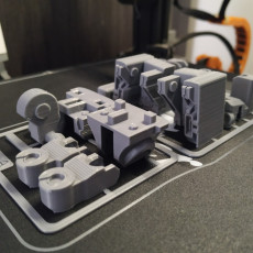 Picture of print of TRANSFORMABLE SOFA ROBOT 3.75 INCH - NO SUPPORT