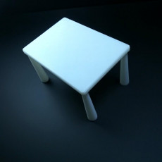 Picture of print of Basic Table