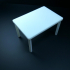 Simple Table, Easy to print print image