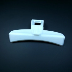 Picture of print of Samsung Washing Machine Door Handle (P/N DC64-01524A)