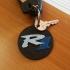 Yamaha R1 Keyring image