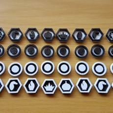 Flat Chess Set
