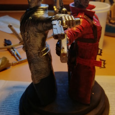Devil may cry Jackpot statue, part 4 Dante second arm