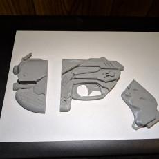 Overwatch - 6 Piece DVA gun
