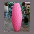 "4 flower vases "" waves serie"" image"