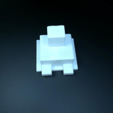 Picture of print of Minecraft Dog