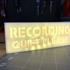 Picture of print of Recording LED sign