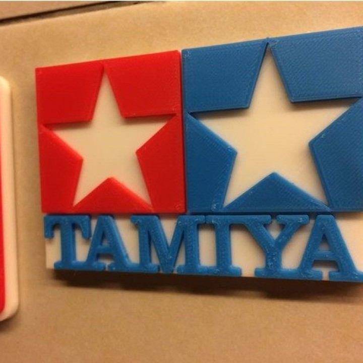 Tamiya Logo - Coloured