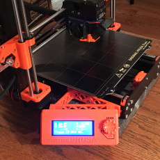 LCD Side Mount Bracket for Prusa MK3s