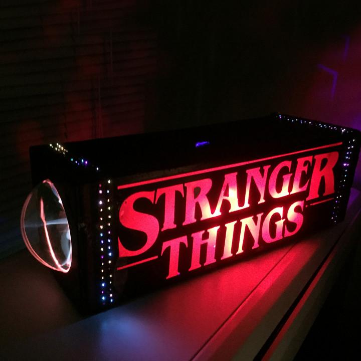 Stranger Things Fiberoptic and Plasma Desk Lamp