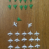 Small airplanes for board game image