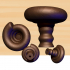Seashell knob image