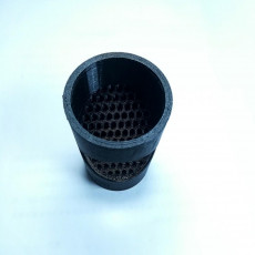 Picture of print of 3D printable leaf Filter for water collection system