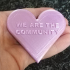 We Are The Community Heart image