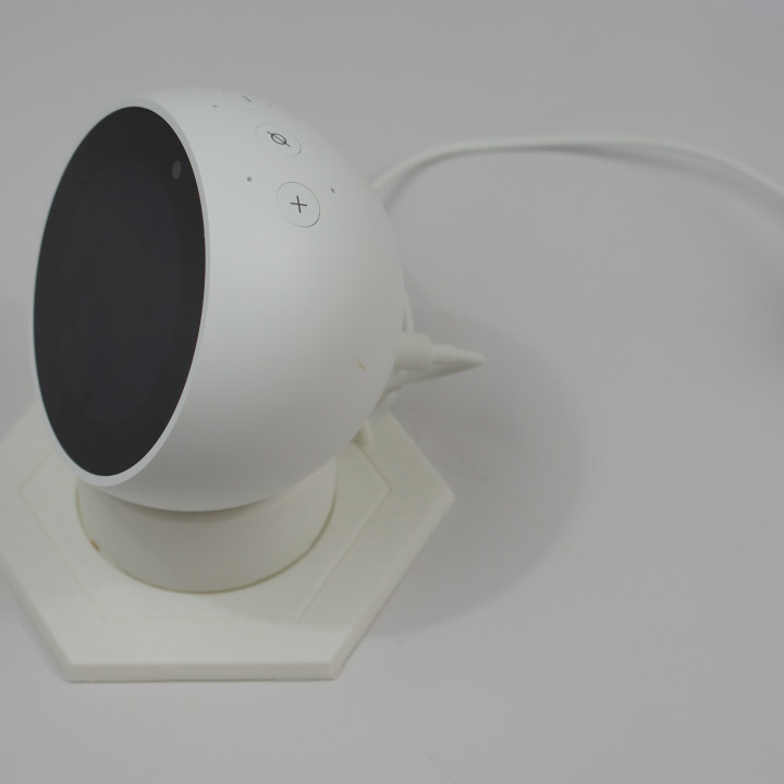 Echo Spot Stand With Power Cable Cover