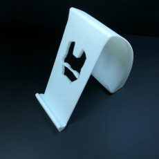 Picture of print of IRONMAN Phone Holder