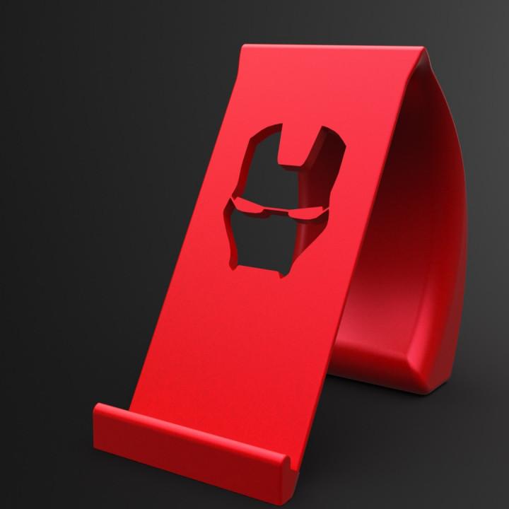 IRONMAN Phone Holder