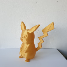 Picture of print of Surprised Pikachu