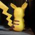Surprised Pikachu print image