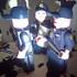 LEGO GIANT POLICEMAN AND POLICE WOMAN SPANISH image