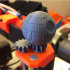 Rotating Prusa Death Star Topper image