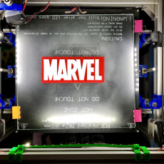 Picture of print of Marvel Logo Multicoloured