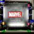 Marvel Logo Multicoloured print image