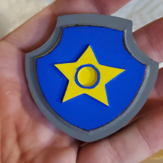 Picture of print of Paw patrol badges