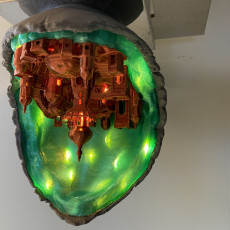 Picture of print of Moon City - Multipart lamp edition