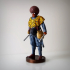 Afro soldier, ww1 image