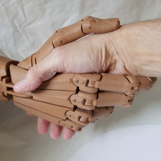 Articulated hand -