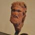 Herm head of a faun image