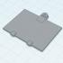Battery lid - / Batteriedeckel REAL FX CAR image