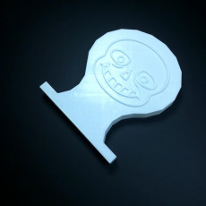 Picture of print of Sans Headphone stand