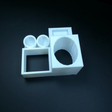 Picture of print of New and Improved Desk Organizer