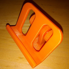 Picture of print of adjustable phone holder