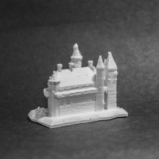 Picture of print of A castle