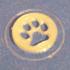 caddie coin _cat print_ 1€ sized image